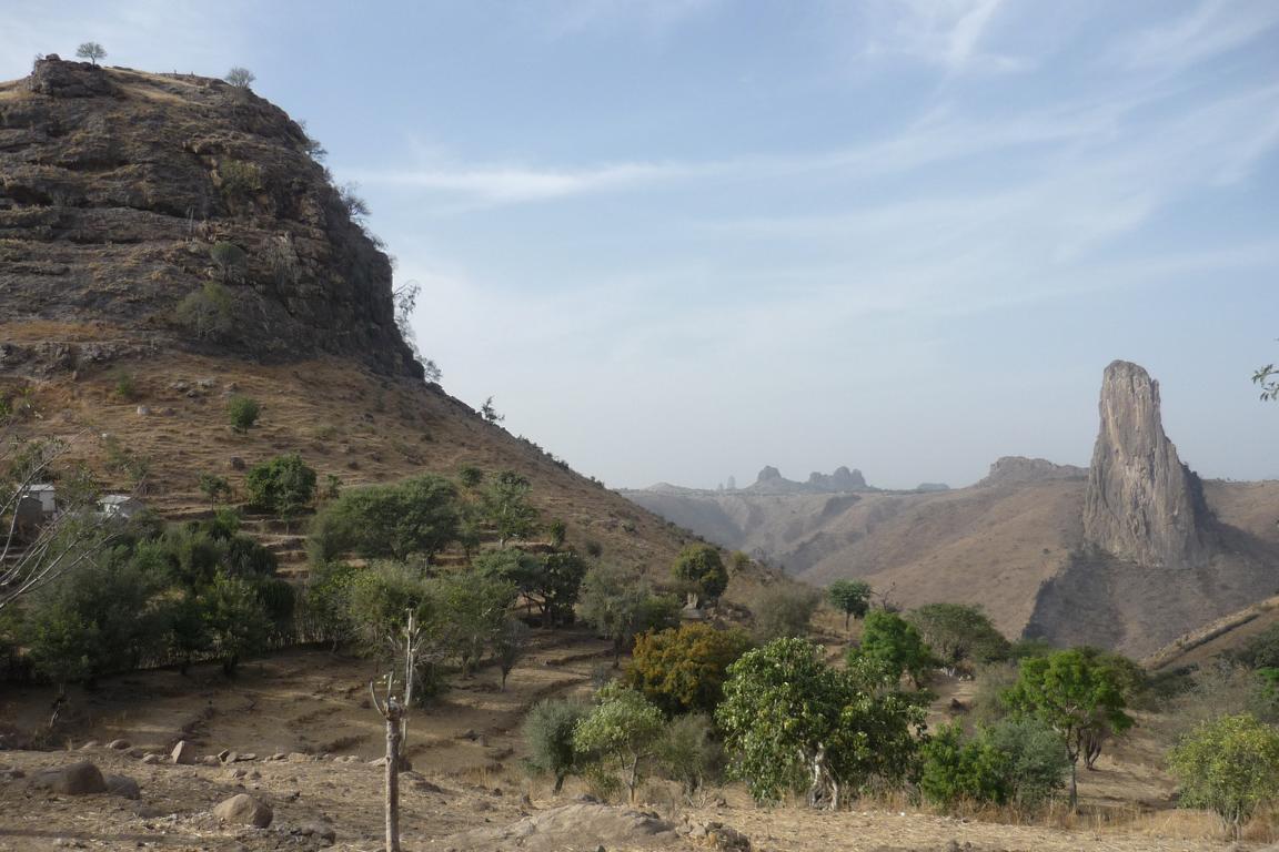 Wüste im Norden von Kamerun